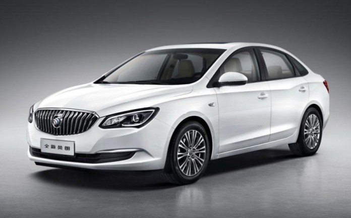 2015 Buick Excelle (1)