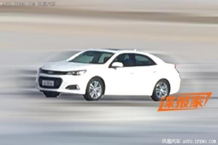2016 Chevrolet Malibu spy photo (1)
