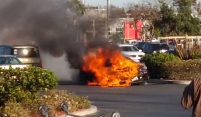 911 turbo s fire