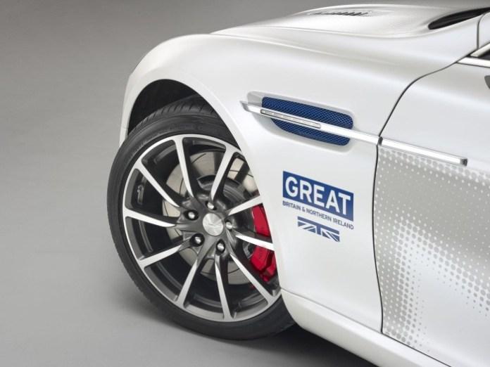 Aston Martin Rapide S for GREAT Britain international marketing campaign 2