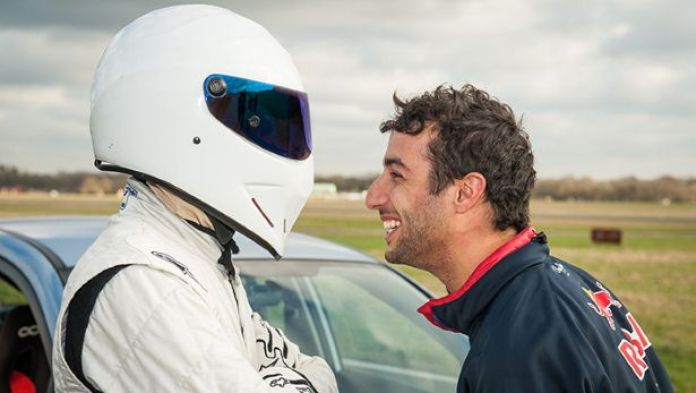 Daniel Ricciardo top gear (3)