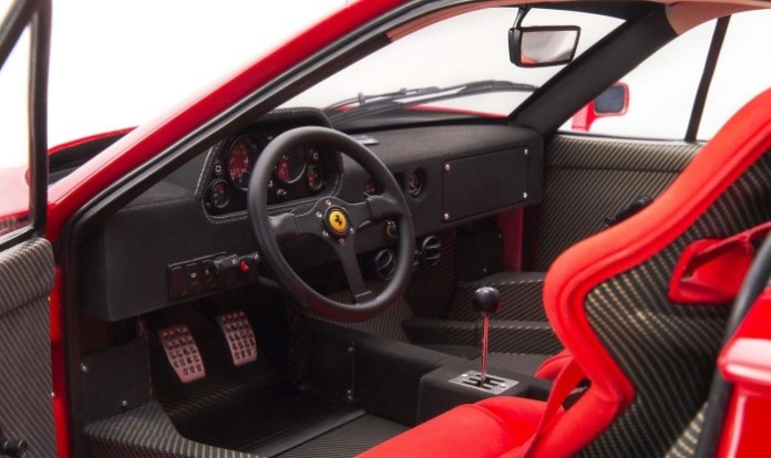 Ferrari F40 limited edition miniature 2