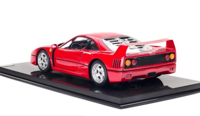 Ferrari F40 limited edition miniature 3