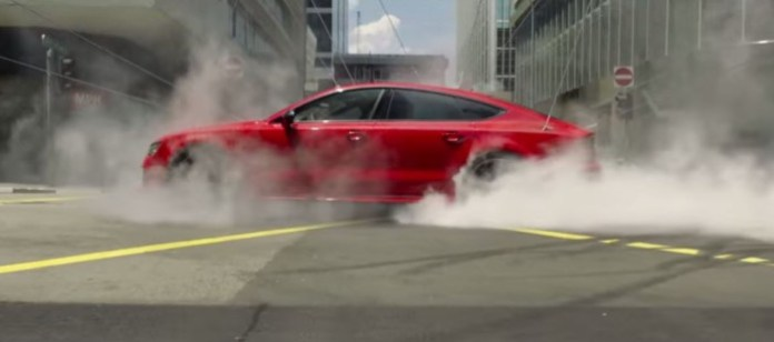 Hitman Agent 47 Official Trailer audi rs7