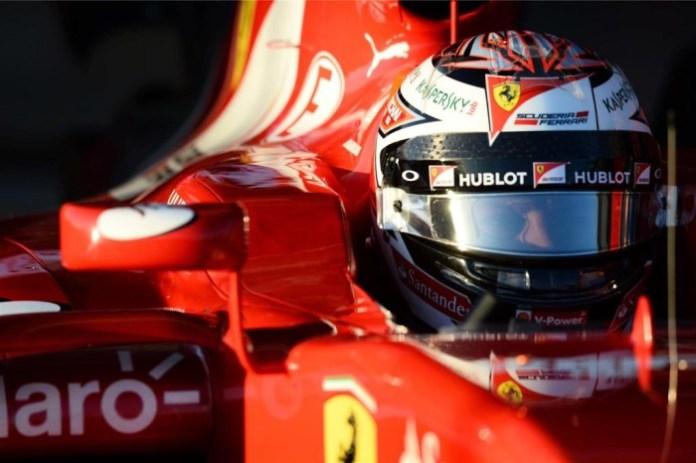 Kimi Raikkonen 2015 Jerez