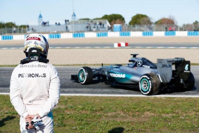 Lewis Hamilton Jerez