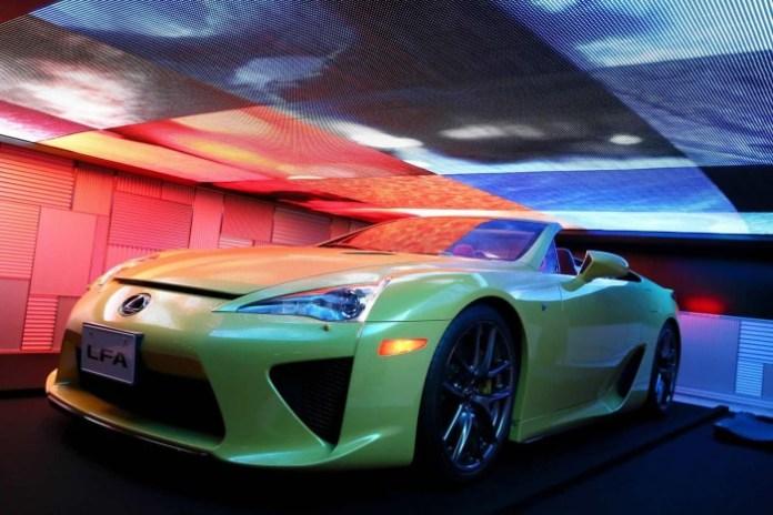 Lexus LFA Roadster in 2015 Media Ambition Tokyo (8)