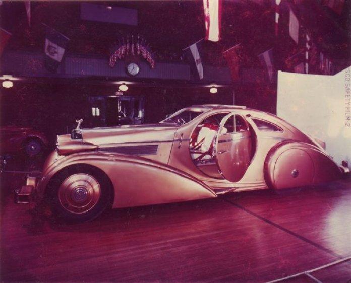 Rolls-Royce Phantom I Jonckheere Coupe (1927)