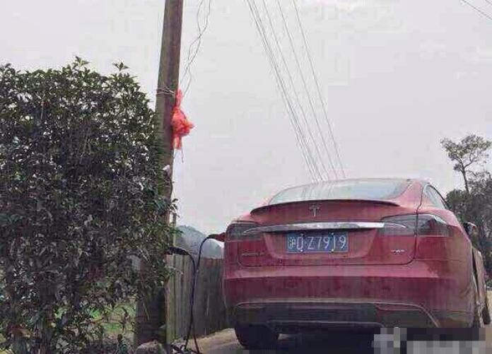 Tesla Model S Chinese charging (6)