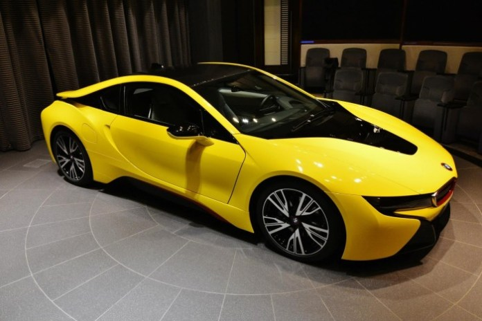 Yellow-BMW-i8-14