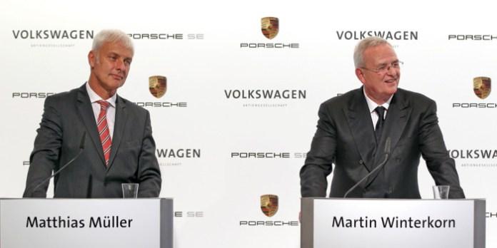 Pressekonferenz der Volkswagen Aktiengesellschaft und Porsche Automobil Holding SE am 05. Juli 2012 in Wolfsburg