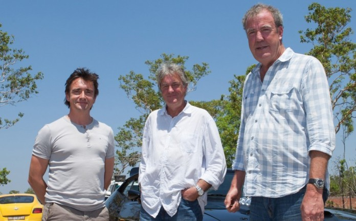 top gear Jeremy Clarkson, Richard Hammond and James May