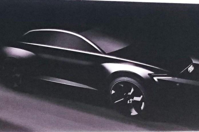 Audi Q6 teaser image