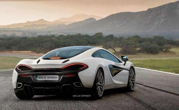McLaren 570S Rendering