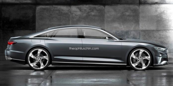 Audi A9 Sportback renderings (2)