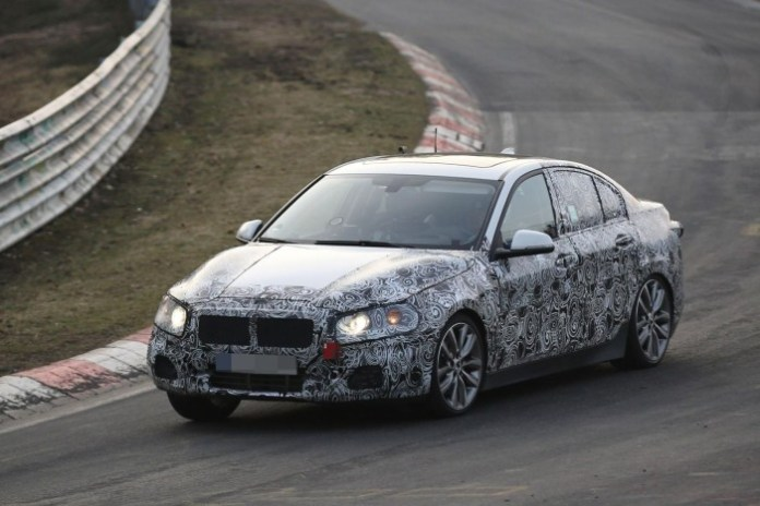 BMW 1-Series Sedan 2016 spy photos