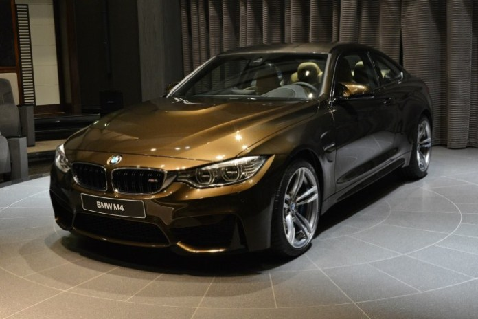 BMW M4 Coupe with Pyrite Brown metallic special color (3)