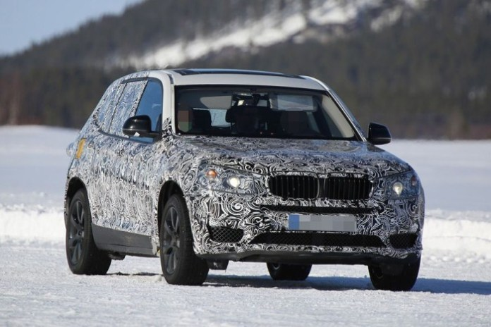 BMW X3 2017 Spy Photos (4)