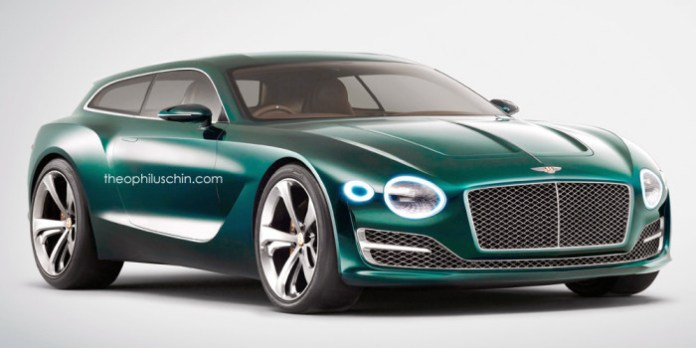 Bentley EXP 10 Shooting Brake Rendering (1)