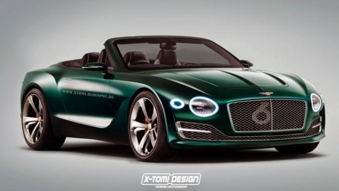Bentley EXP10 Speed6 Convertible Concept front2