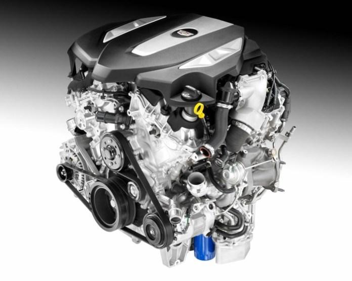 Cadillac twin-turbo 3.0-liter V6 engine (1)