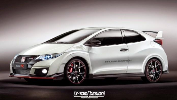 Honda Civic Type-R 3door front2
