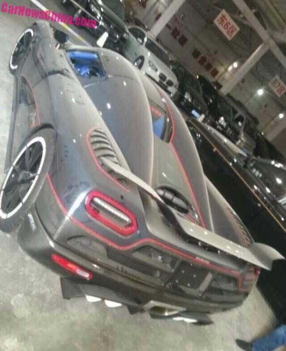 Koenigsegg Agera R BLT seized in China 1