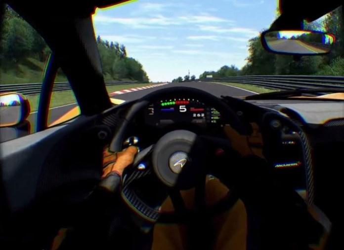 McLaren P1 Oculus Rift DK2
