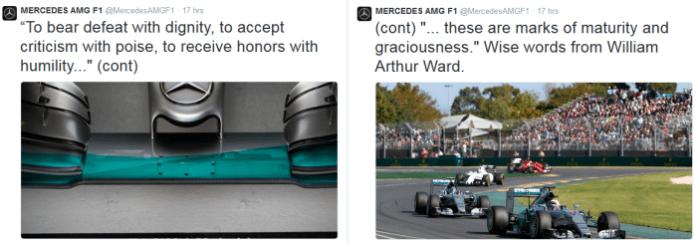 Mercedes Twitter