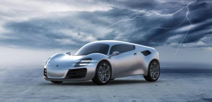 Porsche 356e Design Study (1)