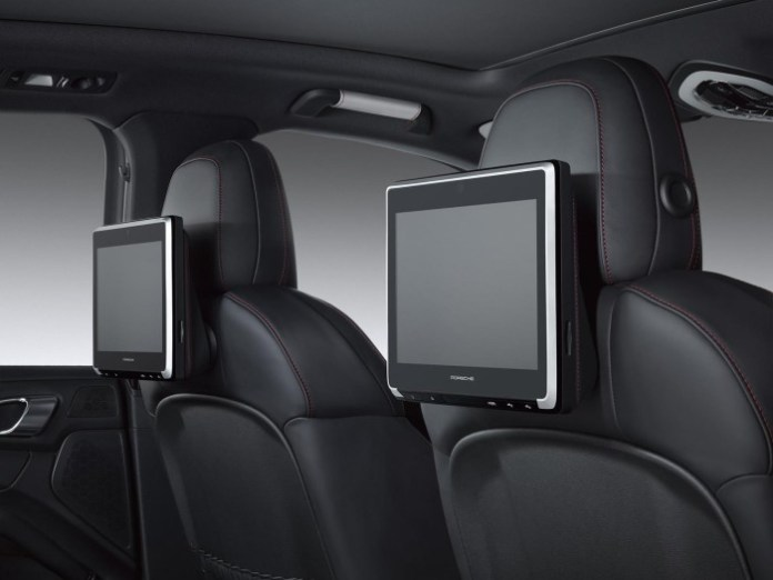 Porsche Rear Seat Entertainment for Cayenne, Macan and Panamera