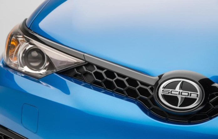 Scion iM hatchback teaser