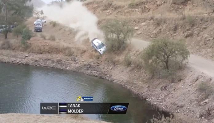 WRC Crash