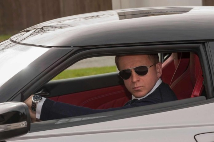 Daniel Craig and Lotus Evora 400