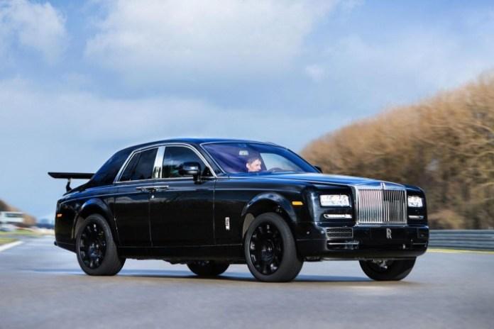 Rolls-Royce Crossover mule