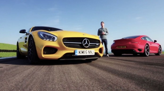 AMG GT S Vs 911 Turbo