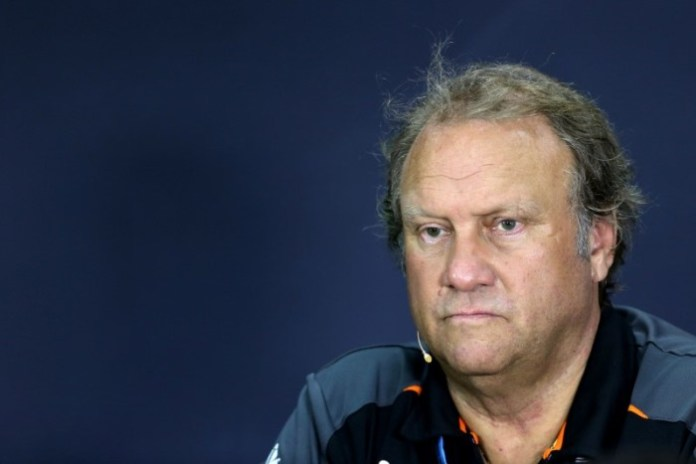 Robert Fernley (GBR) Sahara Force India F1 Team Deputy Team Principal in the FIA Press Conference. Malaysian Grand Prix, Friday 27th March 2015. Sepang, Kuala Lumpur, Malaysia.