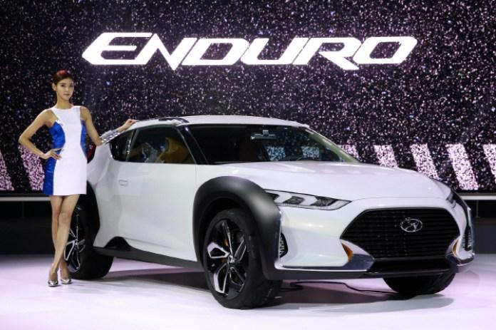 Hyundai Enduro concept at 2015 Seoul Motor Show (1)