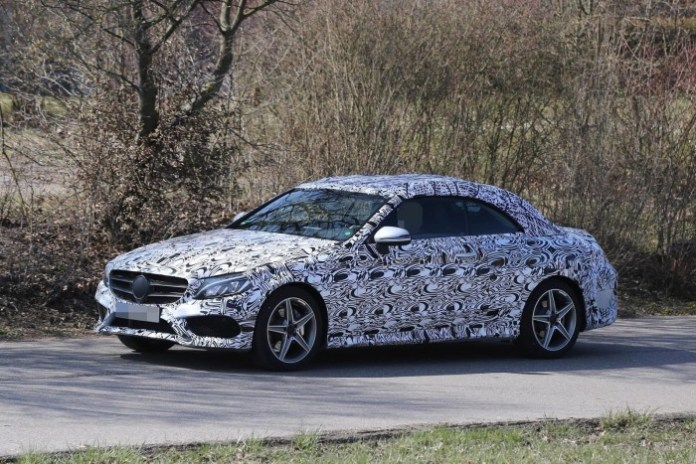 Mercedes-C-Class-Coupe-and-C-Class-Cabriolet-2016-Spy-Photos-12