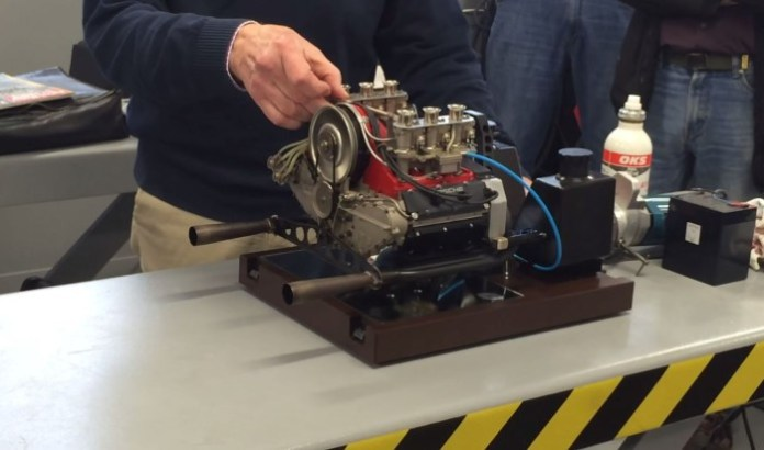 Mini Porsche Engine
