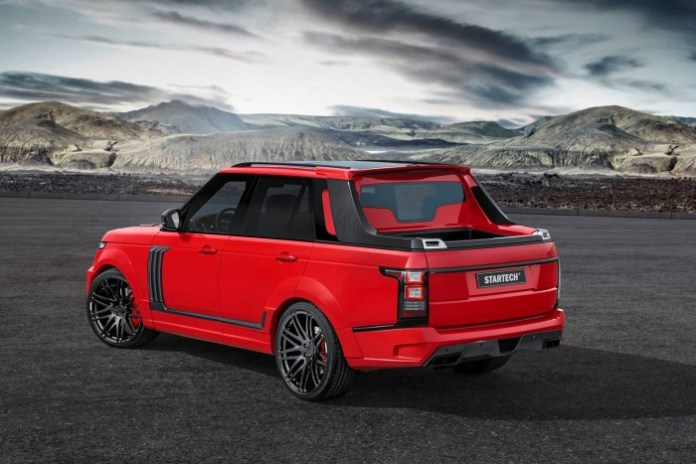 Range Rover pickup by Startech (3)