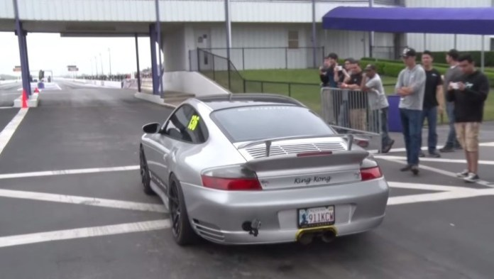 Twin Turbo Porsche 996