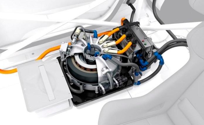 Williams flywheel hybrid