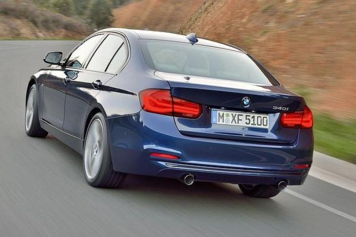 2015 BMW 3-Series facelift leaked official image 5