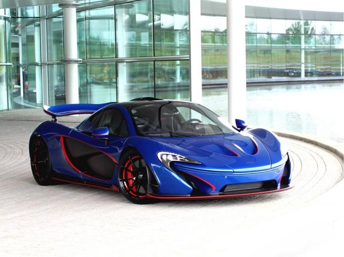Blue MSO McLaren P1 (1)