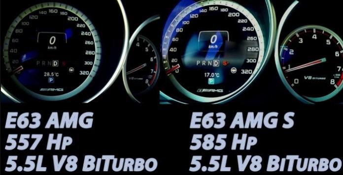 E 63 AMG S