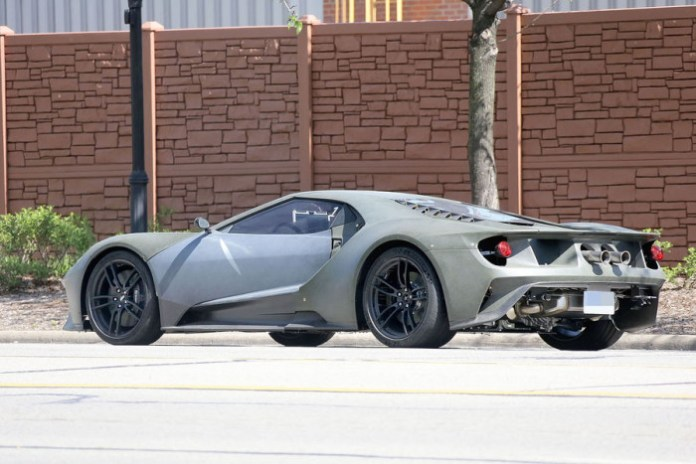 Ford GT 2016 spy photos (6)