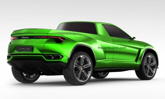 Lamborghini Usus pickup (2)
