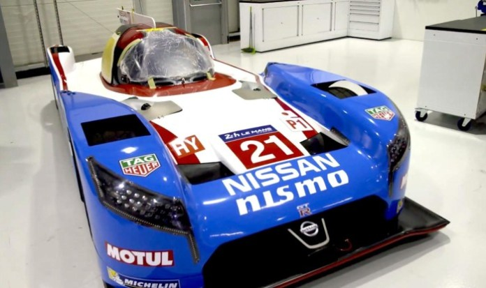 Nissan GT-R LM NISMO livery for Le Mans (1)