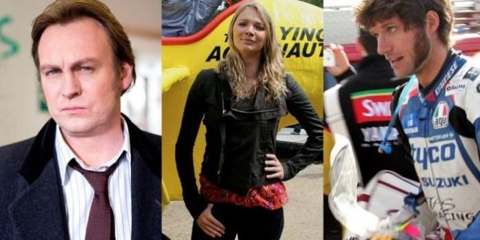 Philip Glenister, Jodie Kidd, Guy Martin